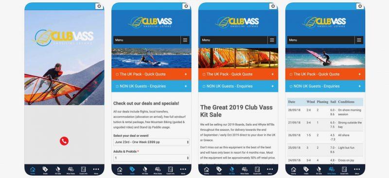Club Vass App