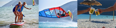 Club Vass Life Image Montage Cycling SUP Windsurfing